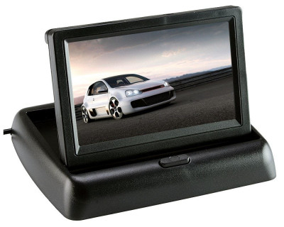 Monitor auto pliabil, TFT LCD , ecran 4.3″ foto