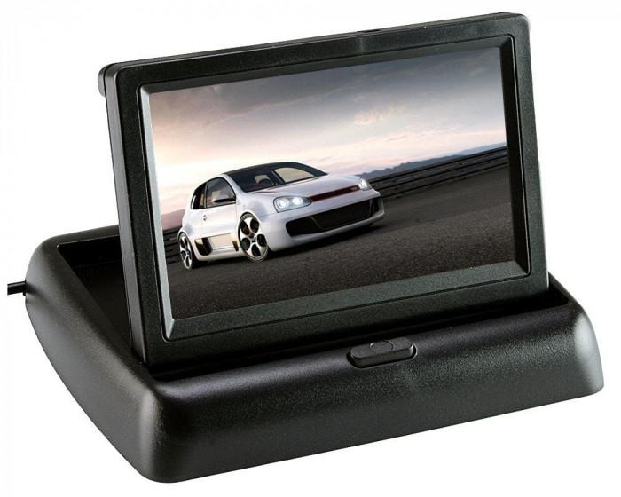 Monitor auto pliabil, TFT LCD , ecran 4.3″