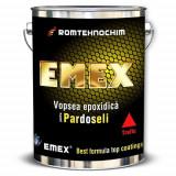 "Vopsea Epoxidica pentru Pardoseli si Trafic ""EMEX"", Alb, Bidon 4 KG, Intaritor inclus"