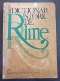DICTIONAR ISTORIC DE RIME - Olimpia Berca