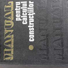 Manual pentru calculul constructiilor