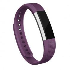 Curea Bratara pentru Fitbit Alta/Fitbit Alta HR, marimea L, Mov