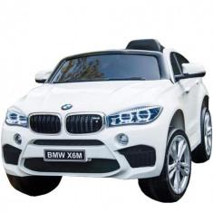Masinuta electrica BMW X6M,alb