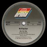 N-Factor - Do Or Die (1990, Ariola), Hip Hop disc vinil Maxi Single