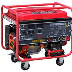 WG 5-200A Generator de sudura monofazat (2 x 220V) cu pornire electrica, motor...