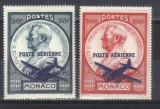 MONACO 1946, Aviatie, serie neuzată, MNH