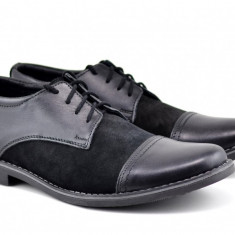 Pantofi barbati casual, eleganti din piele naturala EZEL