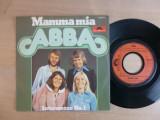 """ABBA - Mamma Mia (1975, Polydor) disc vinil single 7"""""""