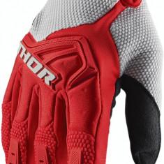 Manusi motocross Thor Spectrum rosu/gri, L Cod Produs: MX_NEW 33305796PE