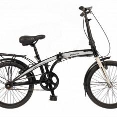 Bicicleta pliabila 20 FIVE Amazing cadru otel culoare negru alb