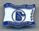 AX 377 INSIGNA SPORTIVA-FOTBAL - FC SCHALKE 04 -2004-FREUDE DER TRADITION