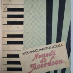 METODA DE ACORDEON de MISU IANCU, PETRE ROMEA, 1984