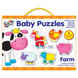 Baby Puzzle Farm - Puzzle Ferma de Animale, Galt