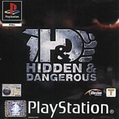 Joc PS1 Hidden & Dangerous