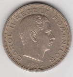 * Moneda 100 lei 1932 - patina, Argint