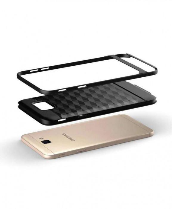 Husa Prism Design Huawei P10 Lite Neagra