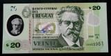 URUGUAY 20 PESOS 2020 polimer UNC necirculata  **