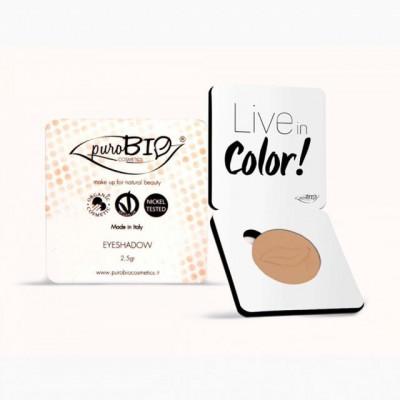 Fard pleoape mat Peach n.12 - PuroBio Cosmetics foto