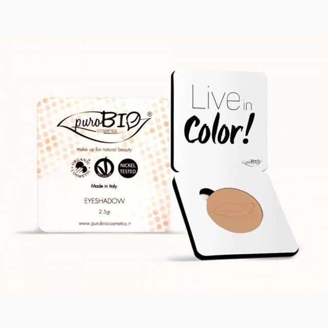 Fard pleoape mat Peach n.12 - PuroBio Cosmetics