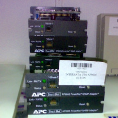 Interfata retea APC AP9605
