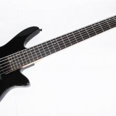 Chitara electrica Bass 6 Corzi Cherrystone e-bass Negru Lucios IN
