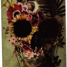Capac Hard PC Iphone 5/5S Flower Skull