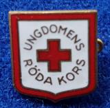 Insigna Donator Onorific - CRUCEA ROSIE Medicina Sanitare Donator de sange #23