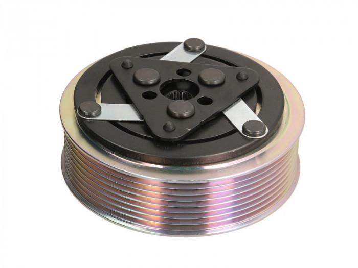 Fulie ambreiaj compresor AC clima (SANDEN SD7H15 24V 8PK 120mm)