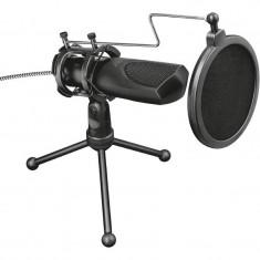 Microfon Trust GXT 232 Mantis Streaming USB Omnidirectional Stand Tripod Negru