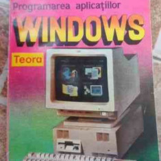 Programarea Aplicatiilor Windows - Florica Moldoveanu Gabriel Hera ,532975