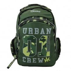 Rucsac Army Urban 01 Decks, 33 x 18 x 49 cm, Verde