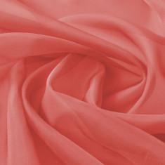 Țesătură din voal 1,45 x 20 m, roșu