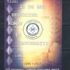 ROMANIA 2015 - 25 DE ANI SRI, COLITA - LP 2061a