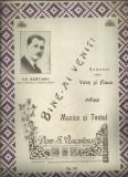 BINE AI VENIT - romanta dedicata lui Gh.Bratianu, seful PNL, 1930