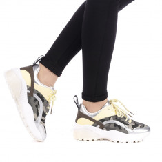 Pantofi sport dama Olivieria argintii