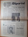 Sportul 26 iulie 1980-nadia comaneci 2 titluri de campioana olimpica