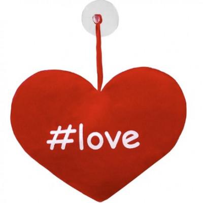 Perna Inimioara De Plus Cu Ventuza #love - 15 cm foto