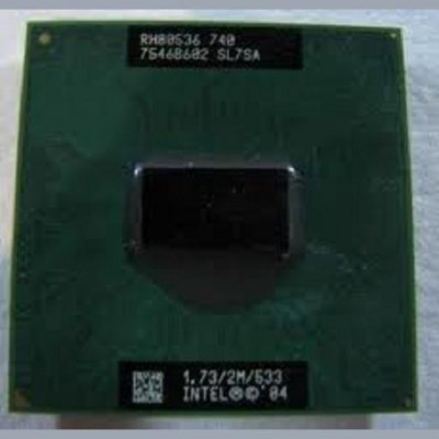 Procesor laptop folosit Intel Pentium M 740 SL7SA foto