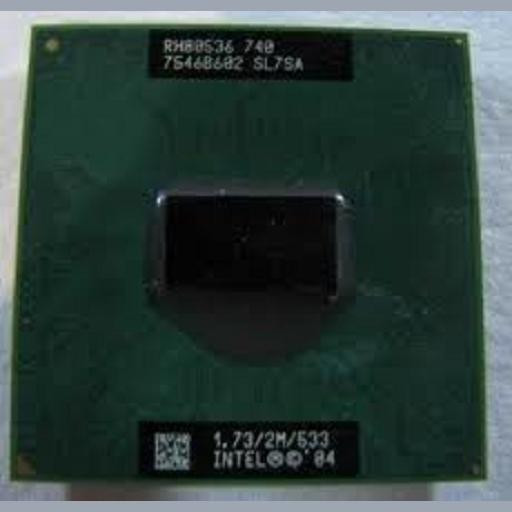 Procesor laptop folosit Intel Pentium M 740 SL7SA