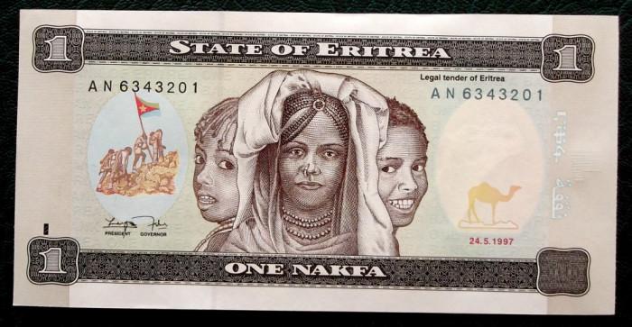 Eritrea 1 Nakfa 1997 UNC necirculata  **
