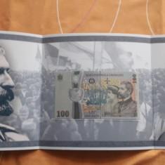 Bancnota aniversara 100 ron centenar