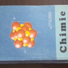 CHIMIE MANUAL PENTRU ANUL I LICEU - Costin D. Nenitescu, 1972