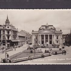 ORADEA  TEATRUL  REGINA  MARIA  CIRCULATA 1935