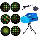 Laser Proiector Figurine Craciun Jocuri de Lumini Rosu Verde YX6Q