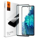 Cumpara ieftin Folie sticla Case friendly Spigen Glass FC Samsung Galaxy S20 FE Black
