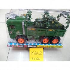 X21-02 CAMION ARMATA FR. CU TANC 31 CM W838-7