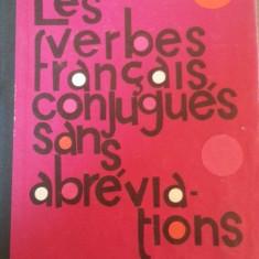Les verbes francais, conjugues sans , abrevidtions