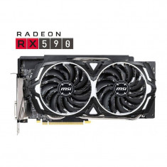 Placa video MSI AMD Radeon RX 590 ARMOR OC 8GB GDDR5 256bit