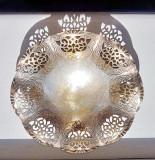 246a-Fructiera mica alama argintata modele traforate.