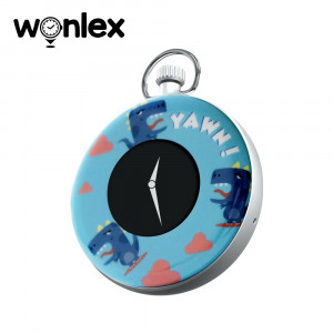 Mini GPS tracker cu Ceas digital Wonlex S03 cu localizare si monitorizare - Albastru
